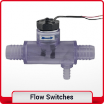 Flow switches and sensors