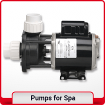 Hot tub pumps