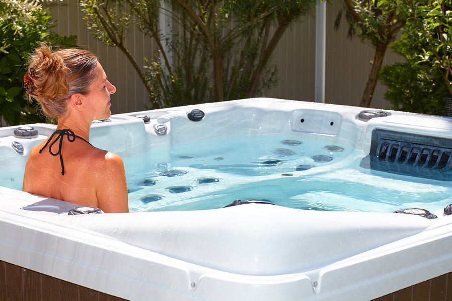 Hot Tubs can be enjoyed all year round with spa covers and accessories