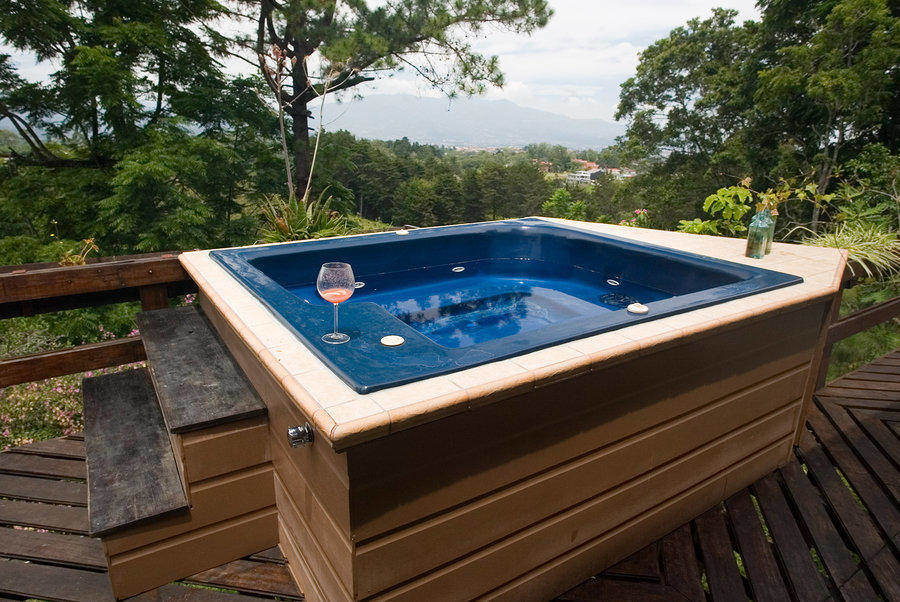 Outdoor spas require spa cover with the right foam density and thickness for good insulation