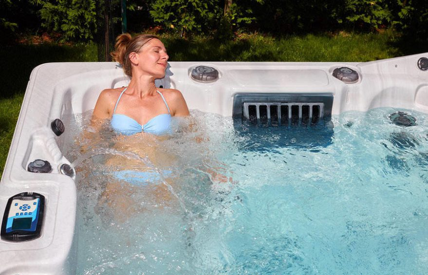 The spa heater ensures your total safety and comfort