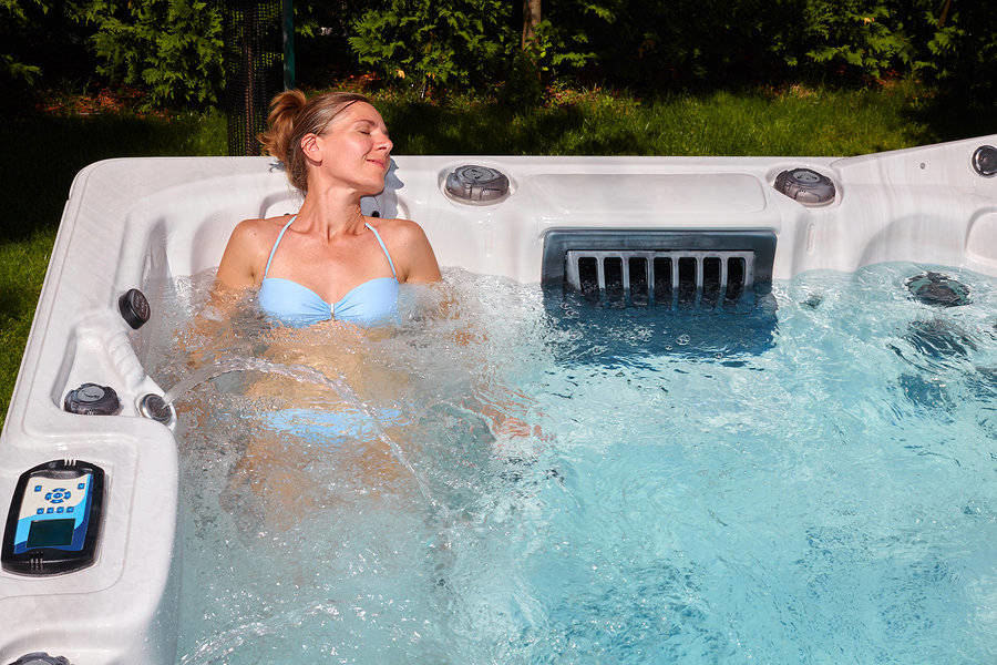 The spa keypad helps deliver the best spa experience you deserve