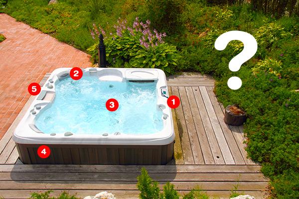 Chaque pièce de spa a une utilité, voici lesquelles